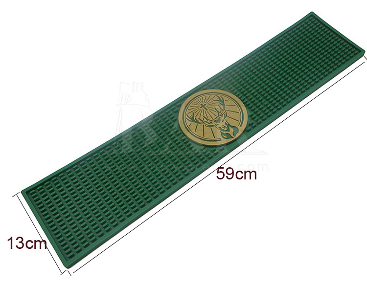 Rectangle Dimples PVC Mat